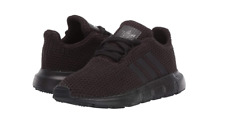ADIDAS F34321 SWIFT RUN I Inf`s (M) Black/Black Mesh Athletic Shoes