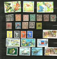 30 timbres de Mayotte