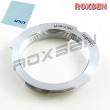 Roxsen Leica M39 39mm LSM LTM mount 28-90 90mm Lens to Leica M adapter M7 M8 M9
