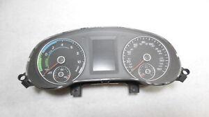 2013 Volkswagen Jetta Sedan Hybrid Speedometer Speedo Cluster MPH OEM