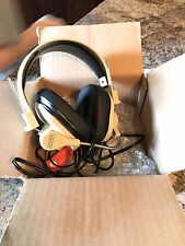 Califone Rugged Headset 2 3.5mm Plugs Beige 3066AV New In Box