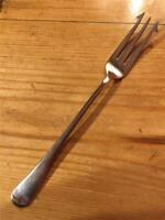 Vintage Silver Plate EPNS Long Handled 17cm Pickle Fork