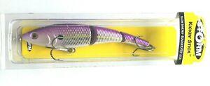 """Chartreuse Purple Shad  Storm Kickin' Stick 12 - 5"""" 1-1/2oz - KST12#596 Item T 3"""