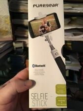 Pure Gear 99569PG Bluetooth Selfie Stick Shutter Built in Remote & Charger