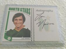 2004-05 ITG  Minnesota North Stars Lou Nanne Autograph