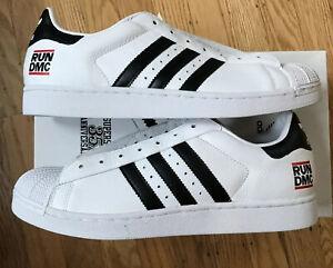 Adidas 35th Anniversary Superstar RUN DMC Size US Mens 11.5 New