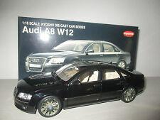 AUDI A8 BLACK NO.09212BK KYOSHO SCALA 1:18