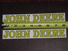 2 STICKERS JOHN DEERE 1