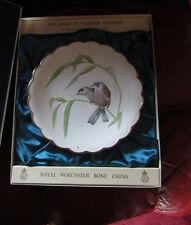 Royal Worcester Dorothy Doughty Birds Ltd Edition Plate  Blue Winged Sivas & Bam