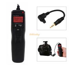 LCD Remote control timer intervalometer for Canon 6D,7D, 5D, 5D2,50D,40D,30D,D60