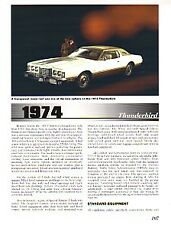 1974 Ford Thunderbird Article + VIN Decode - Must See !!