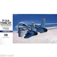 "Hasegawa 1/72 00544 F-14A TOMCAT ""Atlantic Fleet Squadron"" Combo Model Kit"