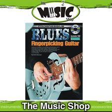 Progressive Blues Fingerpicking Guitar Music Book & CD Package by Brett Duncan