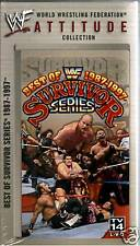 WWE Best of Survivor Series 1987 1997 VHS Video SEALED Bret Hart Shawn Michaels