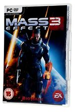 MASS EFFECT 3 2-DISC (Physical Disc) PC CD-ROM DVD Windows Computer Game