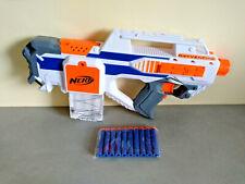 Pistolet Fusil Sniper NERF N-STRIKE // RAYVENFIRE BLANC + 10 Fléchettes Neuves