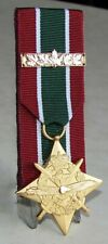 The General Campaign Star – SOUTH-WEST ASIA (GCS-SWA) + Bar Court Mounted Medal