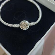 Pandora Signature Two-tone Bracelet (14K) Size 17cm and 18cm