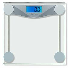 Etekcity Digital Body Weight Bathroom Scale With Body Tape Measure, Tempered 400