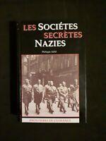 Les Sociétés Secrètes nazies - Philippe AZIZ - Frontières de l'étrange