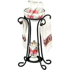 Dollhouse Country Rose Wash Stand Set 1.749/6 Reutter Wrought Iron Miniatur 2018
