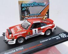PORSCHE 911 SC #1 BEGUIN RALLYE CEVENNES 1979 1/43 ALTAYA