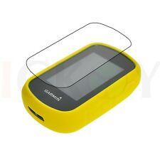 Rubber Yellow Case +  Screen Protector for Garmin eTrex 25 35 35T Accessories