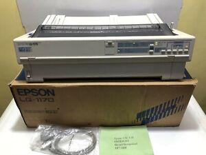 VINTAGE Japan EPSON LQ-1170 DOT MATRIX Printer