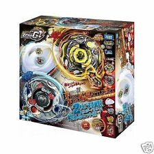 TAKARA TOMY BEYBLADE BBG21 First Zero-G Battle Set+Launcher+Stadium Attack Type