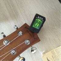 Digital Chromatic LCD Clip-On Electric Tuner for Bass, Guitar,Ukulele,Violin 1pc