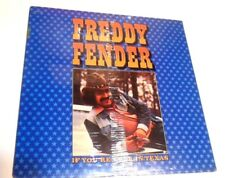 If You're Ever In Texas by Freddy Fender LP STILL SEALED! Tex alt country