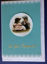 1 Hand made card - On Your Engagement. Postage $2 for 1 to 6 cards