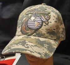 U.S.M.C Camoflauge Baseball Cap/Hat United States Marine Corps Semper Fi