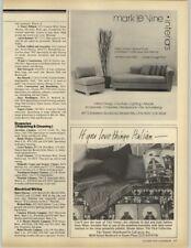 T & J Vestor Tikal Collection - Mark Le Vine Interiors 1979 Print Ad