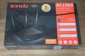 Tenda AC1900 Enhanced Smart Dual-Band Gigabit Wi-Fi Router AC18 Sealed NEW