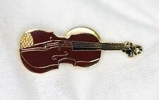 Vintage Albert Elovitz Mini Violin Lapel Pin - Music Gifts Collectible