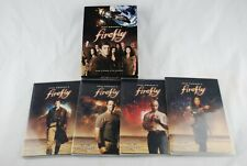 🔶 Firefly The Complete Series Dvd 4-Disc Set Joss Whedon Sci-Fi 2009