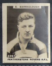 PINNACE FOOTBALL-PINNACE BACK-#2241- RUGBY - FEATHERSTONE ROVERS RFL BARRACLOUGH