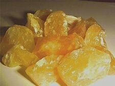 Calcite orange all natural mine rough crystal Mexico 1 pound lot 10-20 pieces