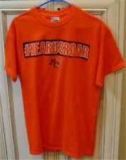 Medium CFL BC LIONS FOOTBALL Short Sleeve T Shirt B.C. Orange #HEARUSROAR