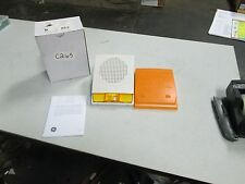 GE Security Speaker/Strobe Cat# G4WA-S7VMA White W/ Amber Light (NIB)