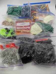 Knex Building Toys Huge Lot of Rods and Connectors Over 5 Pounds Clean Bagged