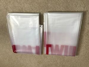 """2 pack of 3 mil HD Twin Mattress Bag /Box Spring/ Cover For Moving 94""""x39""""x12"""""""