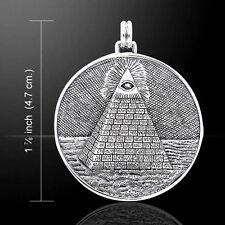 Mystic Piramide, occhio della provvidenza Ciondolo di Peter Stone.