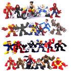 Random 10pcs Marvel Legends iron man X-men Wolverine spider-man Comic Figure Toy