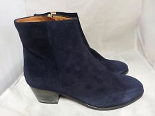Emma Go CARTER Velour Nite Real Suede Ankle Boots rrp £150 UK 4 EU 37 JS29 50