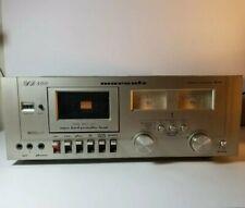 Marantz SD-800 Stereo Cassette Deck Parts/ Repair Powers on needs new belts
