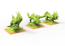 Salamander skink lizardmen 9th age AOS, Warhammer battle, king of war