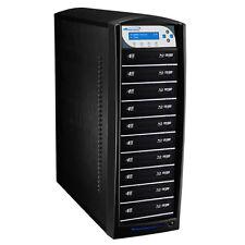 SharkBluCP 10 Target Blu-ray DVD CD Duplicator w 500GB HD Add BD Copy Protection