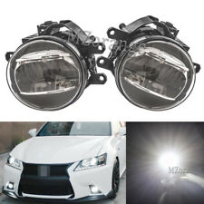 Pair LED Fog Lights For Toyota Lexus Scion Upgrade or Replacement Driving Lamp